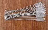 HOT  Cigarette holder brush .stainless steel cleaning brush  straw cleaning brush 170mm*6mm*35mm (1000 pcs/lot)+Free shipping
