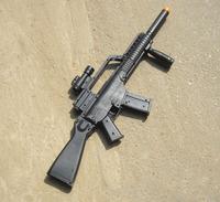Classic Toy guns kids gun toys musical flashing 1: 1 MP7 AEG Airsoft guns TD2008 - with gunfire light