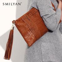 Smilyan women messenger bags chain clutch vintage purses wallet bag shoulder bolsas brand desigual handbags fashion designers