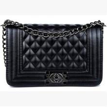 2014 women's handbag plaid chain bag small women's cross-body small bags shoulder bag handbag