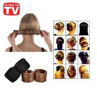 2014 Hot Sale Fashion Hairagami Hair Band Hair Accessories Hairpin Bun Tail Brand New Free Shipping