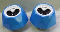 Wholesale 100pcs/lot 50set New Style speaker USB Plug Subwoofer mini digital speaker free shipping