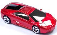 10pcs/lot colorful mini car speaker subwoofer Portable mini speaker display screen TF/USB/FM for mp3/mp4