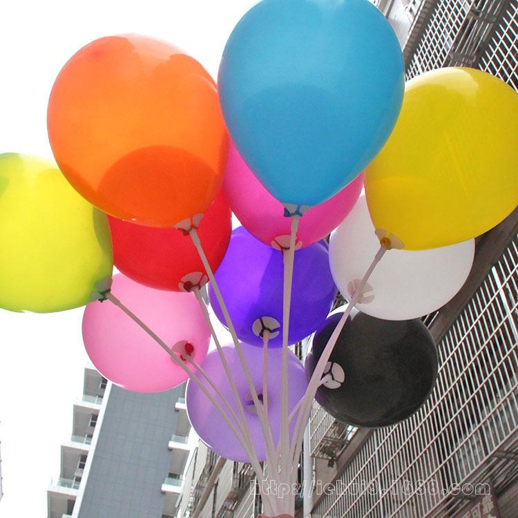 100pcs/pack 10inch latex balloon air balls inflatable wedding party decoration birthday kid party balloons wedding globos balls(China (Mainland))