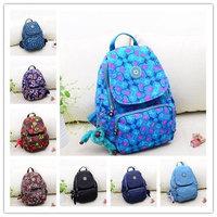 Mochila kippling backpack bag fashion girls school bags nylon lady Travel Bags mochila kippling infantil escolar