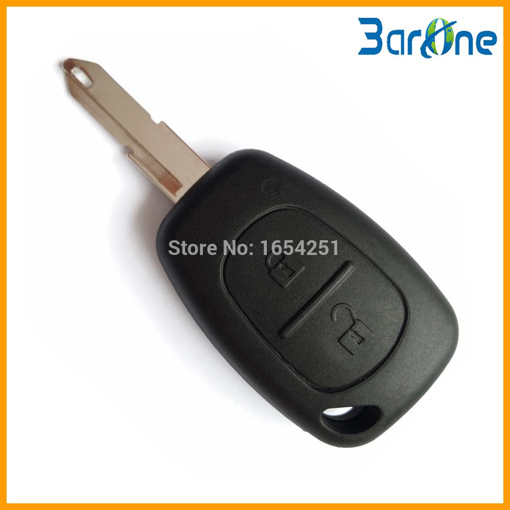 2 Button Remote Key Fob Shell Case Blank For Vivaro Movano For Renault Traffic KANGOO For NISSAN(China (Mainland))