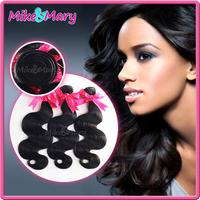 Mike Mary Hair Brazilian Virgin Hair Body Wave Natural Black Virgin Human Hair Weave Unprocessed Brailian Body Wave 3Pcs Lot