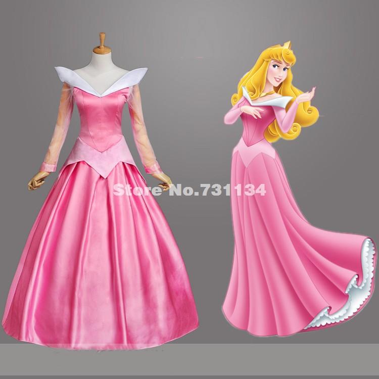 princess costume adult pink