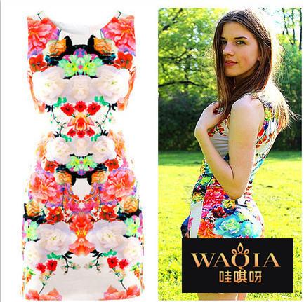 Женское платье WAQIA 2015 Clubwear