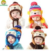 Avivababy children hats winter beanies knitted cap cute winter hat warm beanies for child Skullies & Beanies hat beanie cap