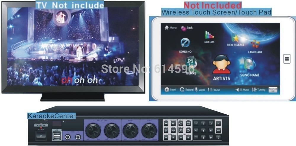 TAGALOG English HDD Karaoke Jukebox Machine MTV Player, Professional Home karaoke ,HDMI, Suport Dual Hard Drive, Androit Tablet(China (Mainland))