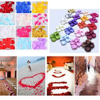 100 Pcs Silk Rose Petals Petalas de Rosa Artificial Flower Wedding Accessories Party Decoration