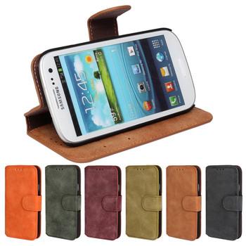 2015 новый роскошный бумажник откидная крышка чехол для Samsung I9300 Galaxy SIII S3 сотовый телефон S3 нео i9301 PU кожаный чехол с слот для карт