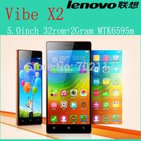 Original Lenovo Vibe X2 smartphone 4G FDD LTE MTK6595 Octa Core in stock FHD 2GB RAM 32GB ROM 13MP Android 4.4 Free shipping