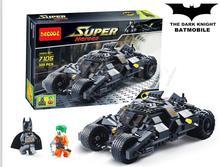 325Pcs Batman The Tumbler Batmobile Joker Super Heroes DC Building Blocks Marvel Set Minifigures Toy Compatible With LEGO(China (Mainland))