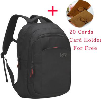 VEEVAN business man backpack bag Laptop computer backpack Men's Travel Bags Double Shoulders Bag School Student satchel(China (Mainland))