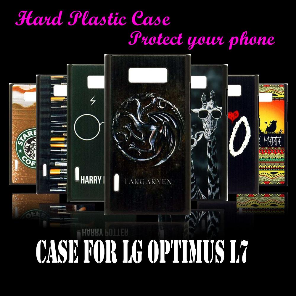 case Cover For LG Optimus L7 P700 P705 Fashion Original Unique game of thrones Pattern Hard Plastic Protective Mobile Phone Case(China (Mainland))