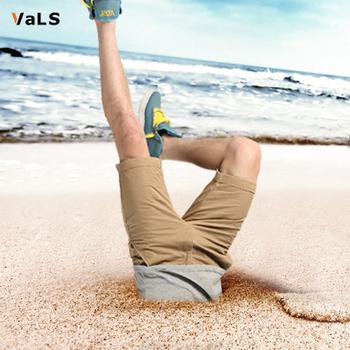 2014 новый шорты мужчин : свободного покроя хлопка с коротким брюки мужчины с шесть цветов мужчины пляж шорты для свободного покроя шорты мужчин