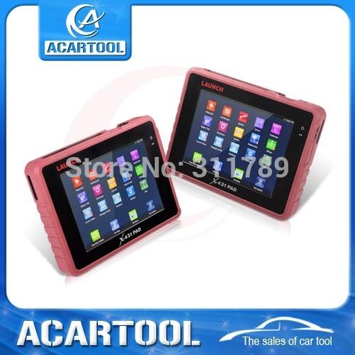 Оборудование для диагностики авто и мото X431 pad 100% aunch X 431 3G WIFI l aunch X/431 оборудование для диагностики авто и мото launch cresetter 100%