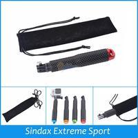 Selfie Stick Handheld Monopod Extendable monopod for mobile phone for Gopro SJ400+Package/Bag for telescopic handheld Monopod