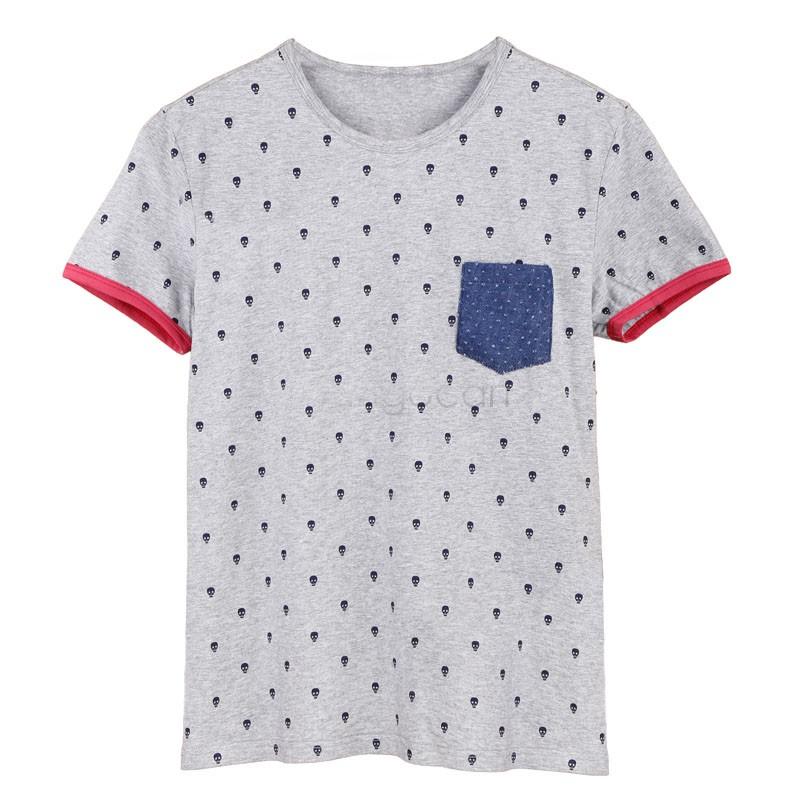 Мужская футболка Brand New#M_G 2015 T TshirT T caMiseTas M l XL xXL sv10 SV015934#M_G женская футболка brand new 2015 tshirt roupas femininas