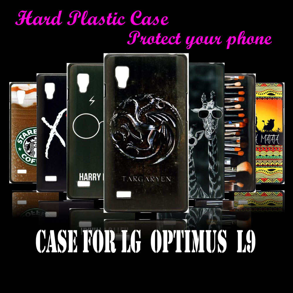 case Cover For LG Opitmus L9 P765 P760 Hot Cool game of thrones Pattern Skin Design Hard Plastic Protective Mobile Phone Case(China (Mainland))