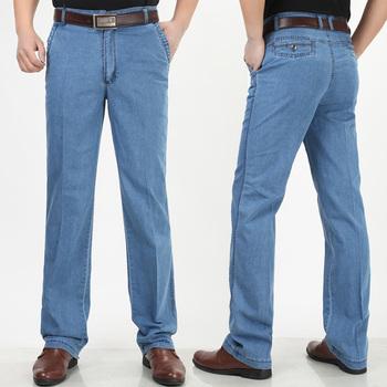 Бесплатная доставка 2015 новый мужской джинсы Eurpean стиль прямые джинсы для мужчин свободного покроя платье джинсовые брюки 3 цвет большой размер 30-44