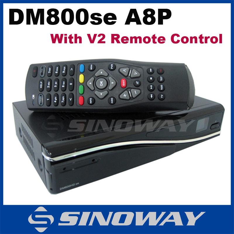 DM800se A8P with V2 remote control Satellite Receiver D6 or D11 dm800hd se A8P SIM A8P BCM4505 or M Tuner Decoder DM 800hd se(China (Mainland))
