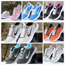 New Brand Men's  Women's Fashion Sneakers / flats / sport shoes breathable hot selling men women shoes large size 36-48