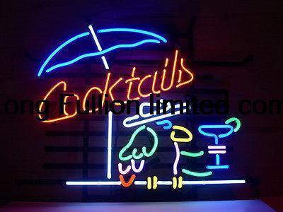 """Cocktail Logo Font 17""""x14""""cocktail Parrot Logo"""