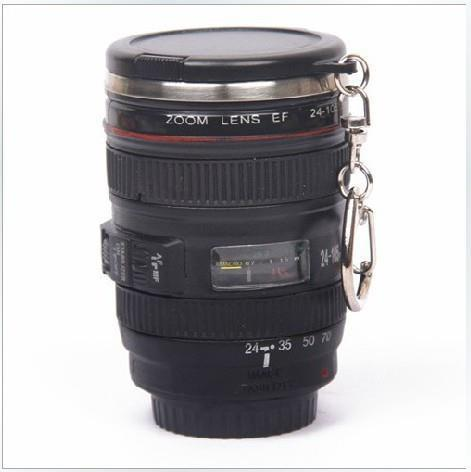 Mini Stainless Steel Mug Cup Vodka Camera Lens Spirits Creative Portable Camera Thermos Cup 60ml 2