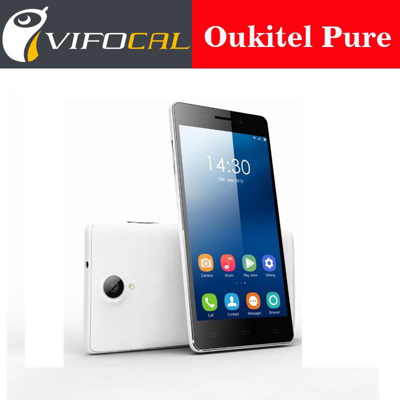 New OUKITEL original PURE 5.0 inch 960x540 MTK6582 Quad Core Android 5.0 Mobile Phone 1GB RAM 8GB ROM 8MP Camera 3G WCDMA Phone(China (Mainland))