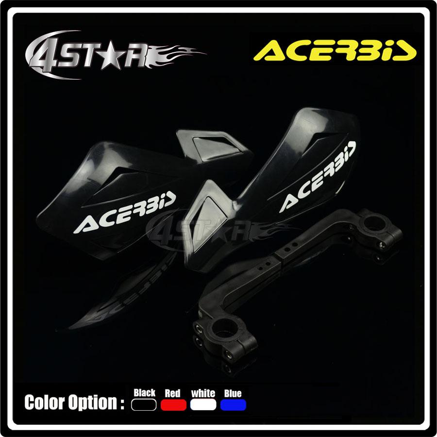 "ACERBIS Black 7/8"" 22mm Handlebar Hand Guard Handguard CB1000R CB1300 CB600F CBF600 Motorcycle Motocross Racing Street Bike(China (Mainland))"