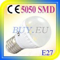 10 pcs E27 3W Warm White 12 SMD 5050 LED Light Bulb Lamp 110-240V +Free Shipping!! #10 x SDQ0167