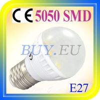 10 pcs E27/E26 Warm White 12 SMD 5050 LED Light Bulb Lamp 110-240V +Free Shipping!! #10 x DQ0167