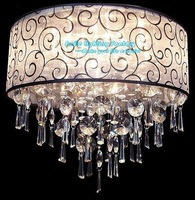 Hot Selling 4 light Modern Europeam Style  ,Ctrystal Ceiling Lamp Foxtire,Lustre Home Luminaire Ceiling lights Hall Lamp