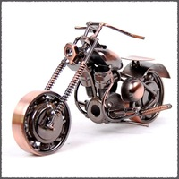 logo printing Novelty Mettle metal crafts classic motorcycle models M10-1