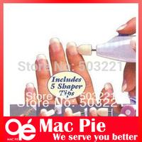 nail tools salon art tips drill buffer shaper Toenail electric 5 in 1 manicure pedicure nail kit