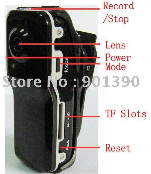 Mini DV DVR Sports Video Camera MD80 Camera High quality Best price Perfect design mini camcorde Free shipping(China (Mainland))