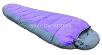 High Quality Outdoor Camping Mummy Type Cotton Three Season Sleeping Bag