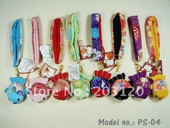**Big Sale**48pcs`Japan!!Golden Fish Mobile Phone Strap/Phone Strap/Genuine Goods100% (PS-04)