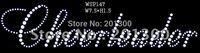 DHL/UPS free shipping custom rhinestone transfer motif WSP147