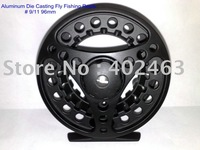 Topgrad New Aluminum Die Casting Fly Fishing Reels # 9/11 96mm 2 Precision bearing+One-way bearing China Post Air Mail Ups Saver