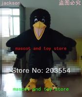 Black Bird mascot costume Halloween Black Bird Costume Christmas Black Bird Costume