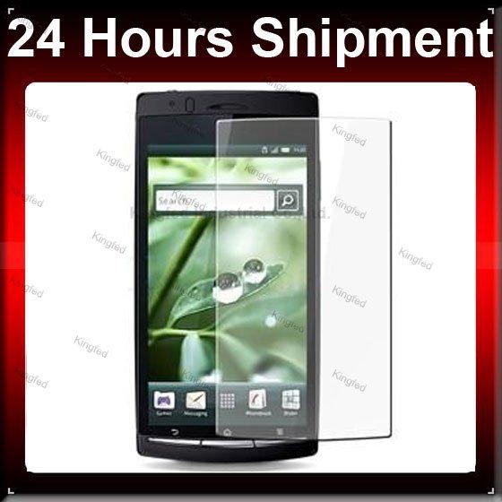 2000 pcs / Lot CLARO Protetor de Tela LCD para Sony Ericsson Xperia Arc X12(China (Mainland))