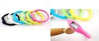 20pcs/lot Fashion Wrist sport Watch 1ATM waterproof anion silicone watch \Wrist watch accept mix colors freeshipping