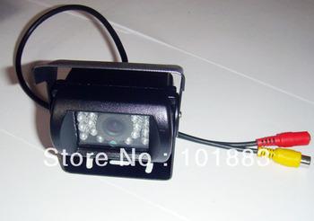 Vehicle CCD backup car reversing camera system free 10m video cable 40pcs/Lot