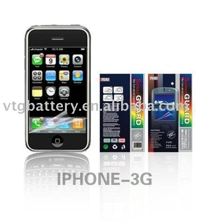 Clear Screen Protector Covers Replacement for iPhone 3GS 3G S(China (Mainland))