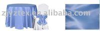 satin table cloth /satin sash/banquet chair cover