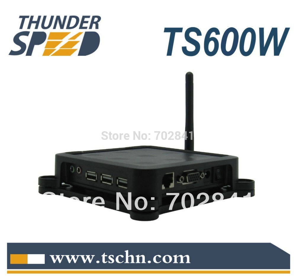 TS600W with 3 USB Port and Wireless/Wifi Mini Net Computer Thin Client PC Satation Network Terminal PC Share